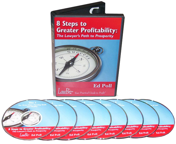 8 Steps to Greater Profitability – The Lawyers Path to Prosperity